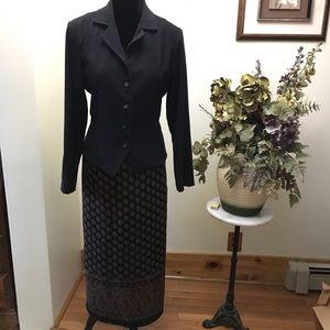 Karin Stevens Jacket and Skirt